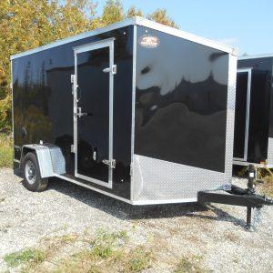 Enclosed Single Axle