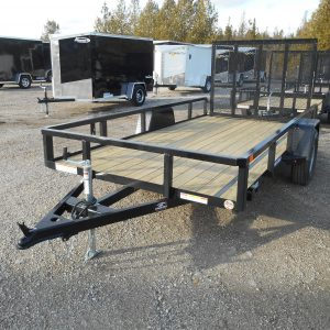 2021 SURE-TRAC 6X12 TUBE TOP, SINGLE AXLE, RAMP GATE, 3500# AXLE