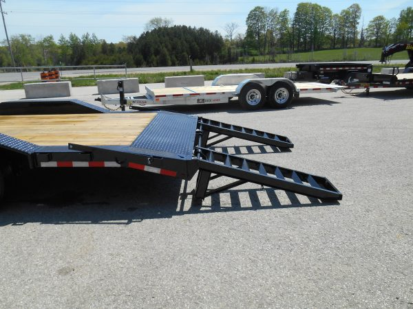 8.5x22 deck over, drive over fenders, equipment hauler, sure-trac, 8000# axles, tandem